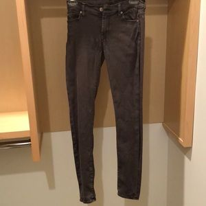 7 For all Mankind Charcoal Jeans